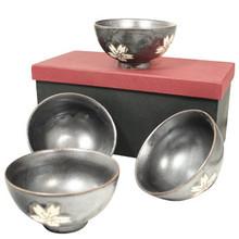 White Lotus Rice Bowls 4.25'  From AFG