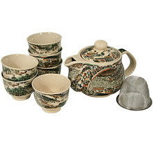 Asian Town Tea Set  From B&T Trading