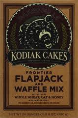 Flapjack/Waffle Mix, Honey Oat WW, 6 of 24 OZ, Kodiak Cakes