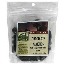 Almonds, Dark Chocolate, 8 of 8.5 OZ, Woodstock