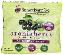 Aroniaberry Gummy Chews, 4 of 10 of 0.92 OZ, Superberries