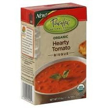 Bisque, Hearty Tomato, 12 of 17.6OZ, Pacific Natural Foods