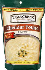 Cheddar Potato, 6 of 12 OZ, Bear Creek
