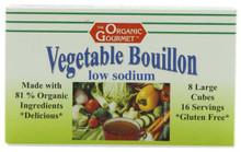 Bouillon Cubes, Low Salt (8 Cubes) , 12 of 2.54 OZ, Organic Gourmet