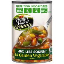 14 Garden Vegetable, 12 of 15 OZ, Health Valley