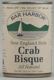 Bisque, Crab, 6 of 10.5 OZ, Bar Harbor
