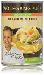 Chicken w/Egg Noodle, 12 of 14.5 OZ, Wolfgang Puck
