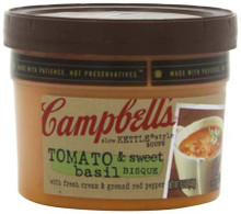 Tomato Basil Bisque, 8 of 15.5 OZ, Campbell