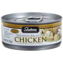 Chicken, White Meat, 12 of 5 OZ, Shelton'S