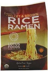 Millet/Brwn Rice, 4 Pack, 6 of 10 OZ, Lotus Foods