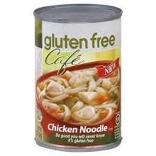 Chicken Noodle, 12 of 15 OZ, Gluten Free Cafe