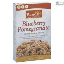 Blueberry Pomegranate, 6 of 12 OZ, Peace Cereal
