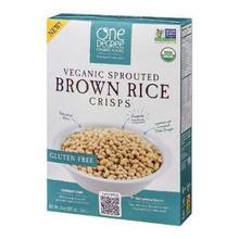 Brown Rice Crisps, 6 of 8 OZ, One Degree Organic Foods