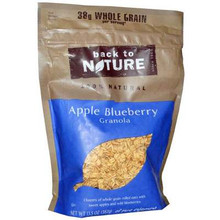 Apple Bluberry, 6 of 12.5 OZ, Back To Nature