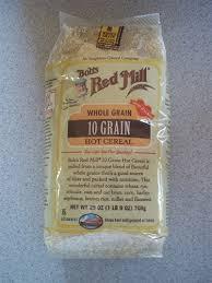 10 Grain, Hot, 4 of 25 OZ, Bob'S Red Mill