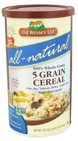 5 Grain Hot Cereal, 12 of 18.5 OZ, Old Wessex