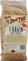7 Grain, Hot, 4 of 25 OZ, Bob'S Red Mill