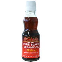 Orchids Pure Black Sesame Oil 6.2 fl oz  From Orchids