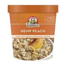 Hemp Peach Oatmeal, GF, 6 of 3 OZ, Dr. Mcdougall'S