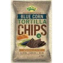 Blue Corn Tortilla, 9 of 24 OZ, Real Deal All Natural Snacks