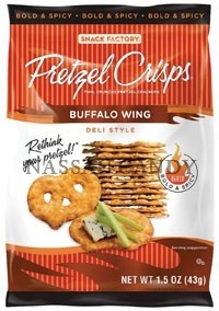 Buffalo Wing, 24 of 1.5 OZ, Snack Factory