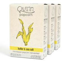 Butter & Sea Salt, 2 Bags, 6 of 6.9 OZ, Quinn