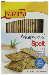 Flatbread, Spelt, Multi Seed, 12 of 4.5 OZ, Suzie'S
