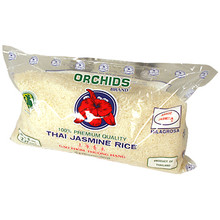 Orchids Thai Jasmine Rice 5 lbs  From Orchids