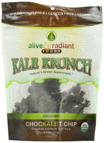 Chockalet Chip, 12 of 2.2 OZ, Alive & Radiant Foods