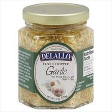 Garlic Chopped In Oil, 12 of 6 OZ, De Lallo