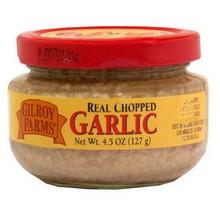 Garlic, Chopped, In Water, 24 of 4.50 OZ, Gilroy Farms