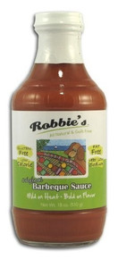 Barbeque, Mild , 6 of 18 OZ, Robbies All Natural