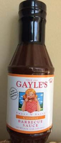 BBQ Sauce, Chipotle, 12 of 18 OZ, Gayles