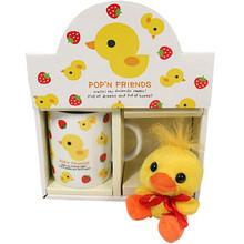 Pop'n Friends Key Chain and Coffee Mug  From San-X