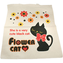Flower Cat Tote Bag  From San-X