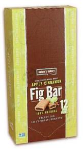 Apple Cinnamon, Whole Wheat, 12 of 2 OZ, Nature'S Bakery