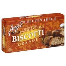 Biscotti, Orange, GF, 6 of 4 OZ, Amy'S