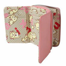 Korilakkuma 3-fold Pink Wallet  From San-X