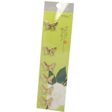 Gold Foil Butterfly Stickers  From AFG