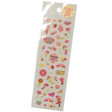 Gerbera Daisy Japanese Stickers  From San-X
