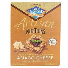 Artisan, Asiago Cheese & Seed, 12 of 4.25OZ, Blue Diamond