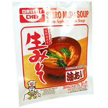 Instant Miso White Miso Soup w/Age 2.5 oz  From Orient Chef