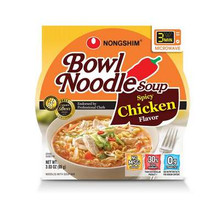 Noodle Bowl, Spicy Chicken, 12 of 3.03 OZ, Nong Shim