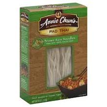 Brown Rice, Pad Thai, 6 of 8 OZ, Annie Chun'S