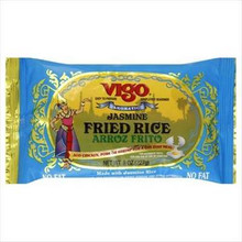 Rice, Jasmine Fried, 12 of 8 OZ, Vigo