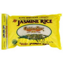 Rice, Jasmine, 6 of 5 LB, Golden Star