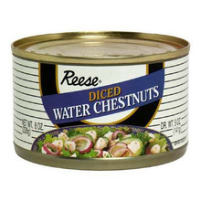 Water Chestnuts, Diced, 8 OZ, Reese