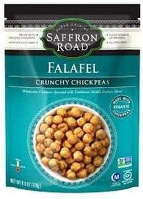 Crunchy Chickpeas, Falafel, 8 of 6 OZ, Saffron Road