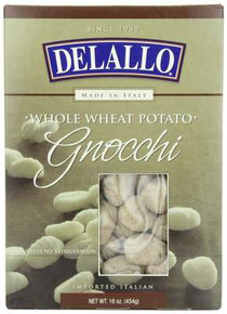 Gnocchi, Potato, Whole Wheat, 6 of 16 OZ, De Lallo