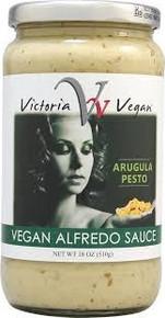 Arugula Pesto, Alfredo, Vegan, 12 of 18 OZ, Victoria